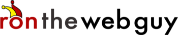 ron the web guy logo